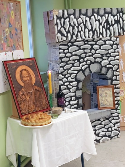 Слава Светог Саве у Љутову 2020. године