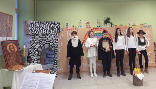 """Školska slava """"Sveti Sava"""" u Ljutovu"""