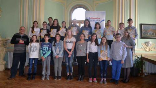 Učesnici Pokrajinske smotre recitatora u Subotici