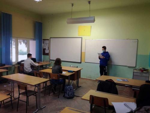 Predavanje o hlebu Učeničkog parlamenta